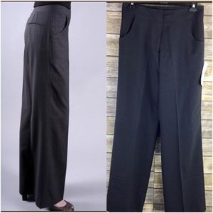 Altitude Fadique Wide Leg Trouser In Charcoal NWT